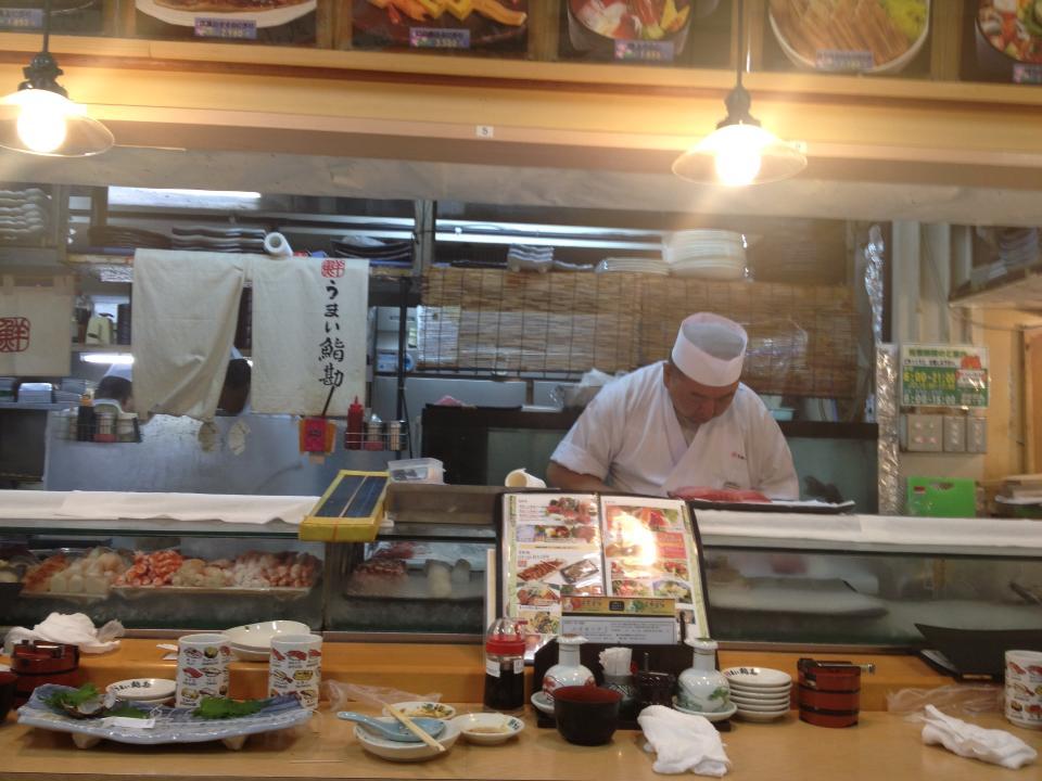 Tokyo Fish Market - Sushi