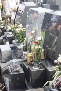 Nishio Sensei's grave
