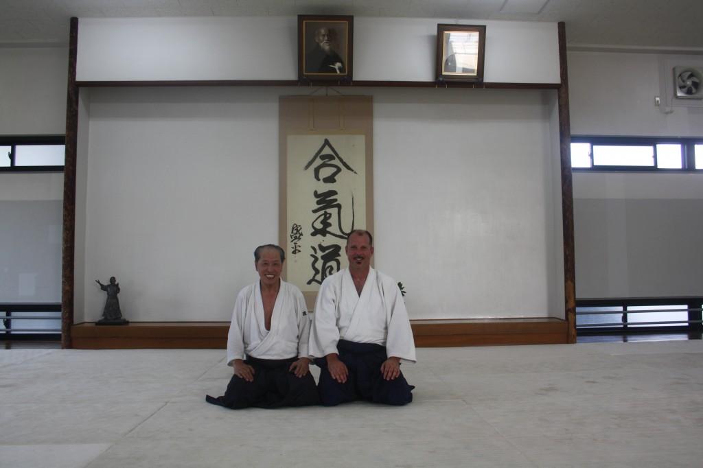 With Watanabe-san