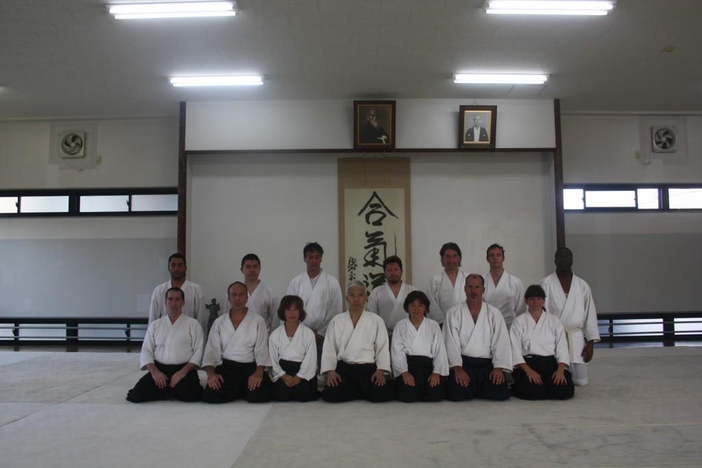 Hombu Dojo with Doshu