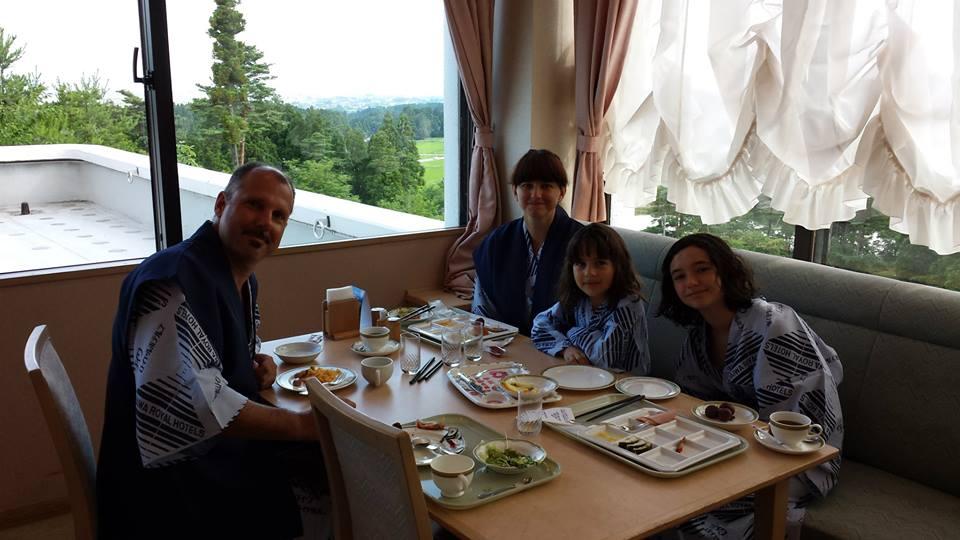 Tonami Royal Hotel Breakfast