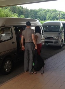 Tonami Royal Hotel - Leaving