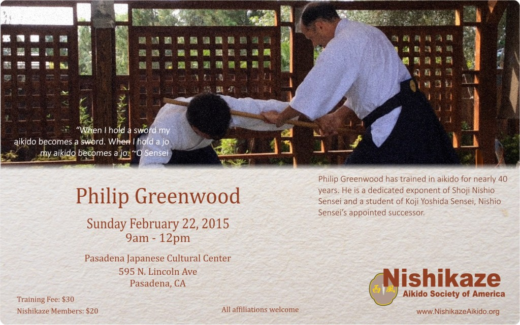 Greenwood Seminar Feb 22, 2015